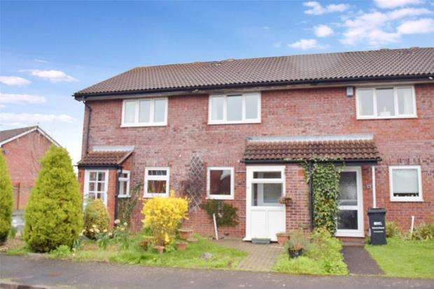 2 Bedrooms Terraced House for sale in Bluebell Close, Taunton, Somerset