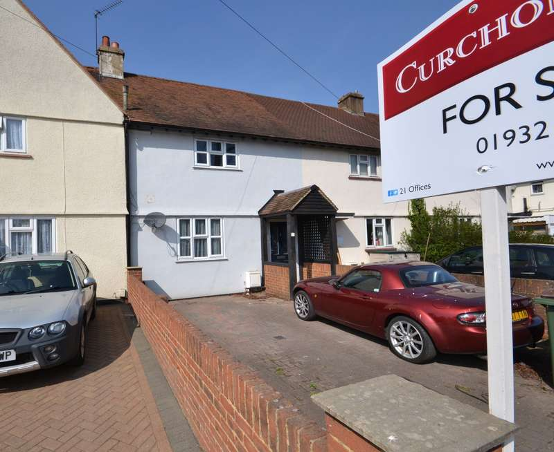 3 Bedrooms Terraced House for sale in Hersham