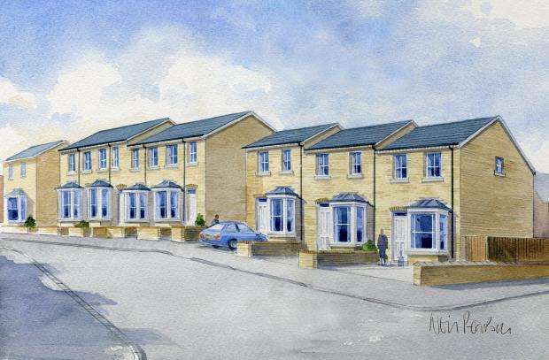 2 Bedrooms Terraced House for sale in (PLOT 4) St Saviour Court, Norwood Place, Scarborough, North Yorkshire YO12 7AW