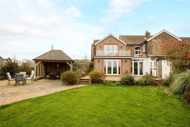 4 Bedrooms Semi Detached House for sale in Wivelsden Farm Cottages, North Common Road, North Chailey, East Sussex, BN8