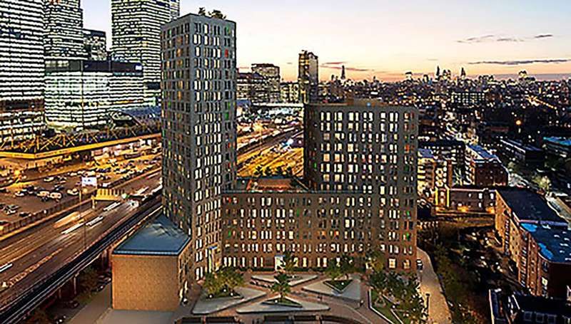 2 Bedrooms Flat for sale in Manhattan Plaza, Canary Wharf, E14