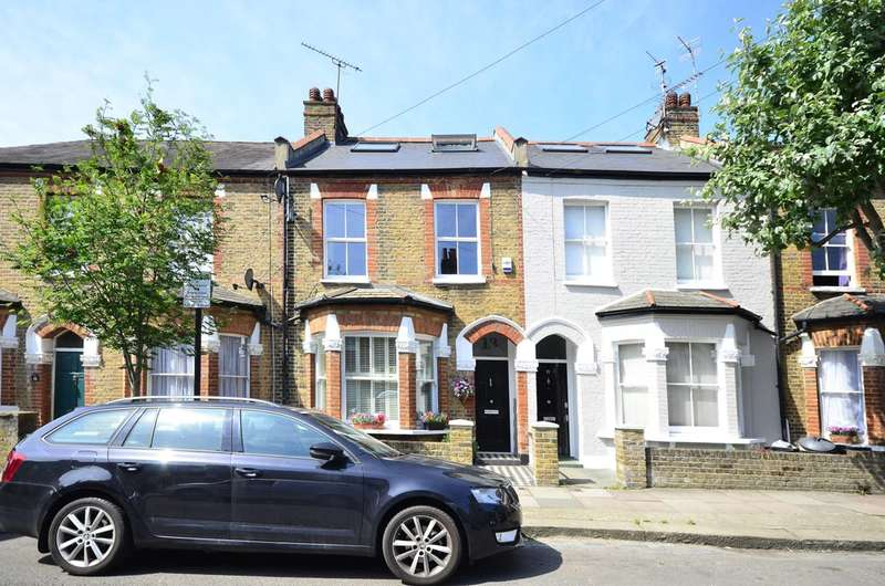 4 Bedrooms Terraced House for sale in Coliston Road, Southfields, SW18
