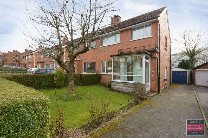3 Bedrooms Semi Detached House for sale in 69 Roddens Crescent, Belfast, BT5 7JN