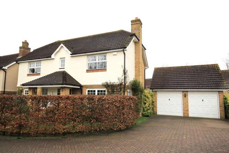 4 Bedrooms Detached House for sale in John Newington Close, Kennington, TN24 9SG