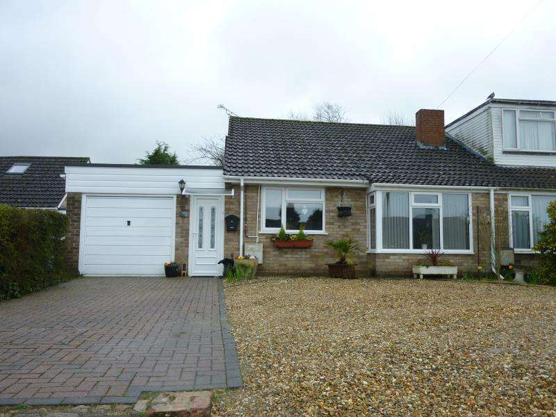 2 Bedrooms Semi Detached Bungalow for sale in Burswin Road, Carterton, Oxon