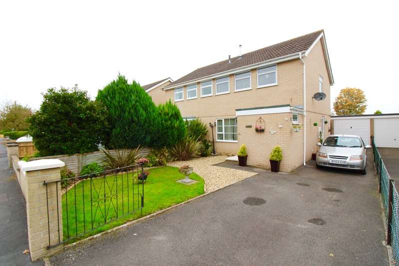 3 Bedrooms Semi Detached House for sale in goss drive, Street, Somerset, BA16