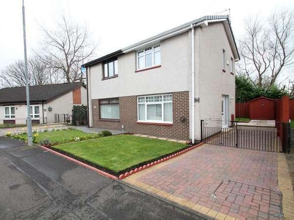 2 Bedrooms Semi-detached Villa House for sale in 17 Sandyhills Drive, Sandyhills, Glasgow, G32 9LH