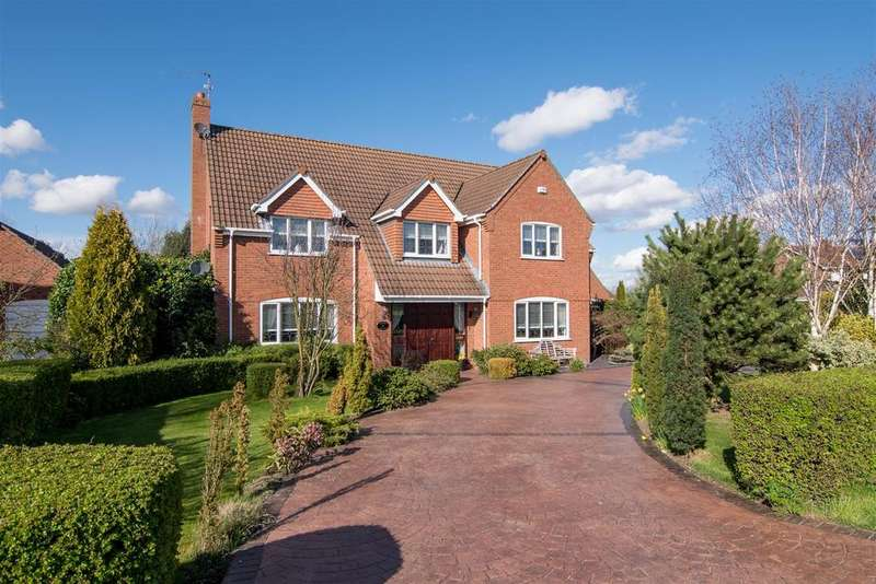 5 Bedrooms Detached House for sale in Reservoir Road, Surfleet