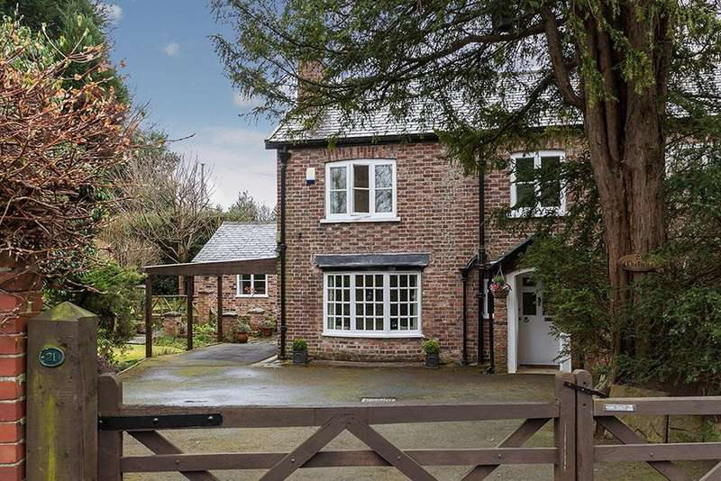 4 Bedrooms Semi Detached House for sale in Knutsford Road, Wilmslow