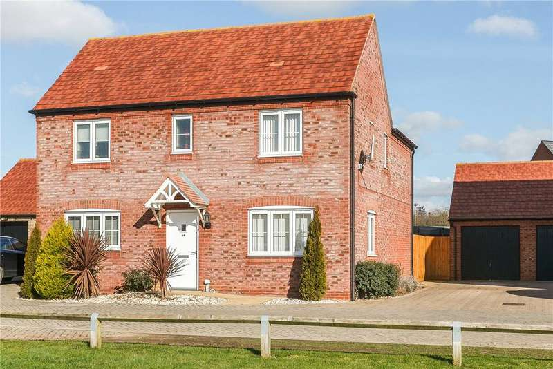 4 Bedrooms Detached House for sale in Goodwood Close, Chesterton, Bicester, Oxfordshire, OX26