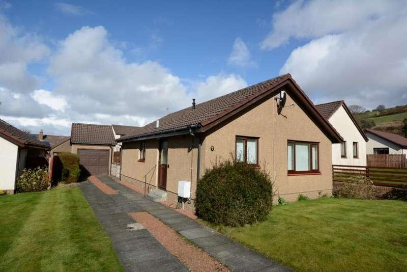 2 Bedrooms Detached Bungalow for sale in 8 Semple Crescent, Fairlie, KA29 0EN
