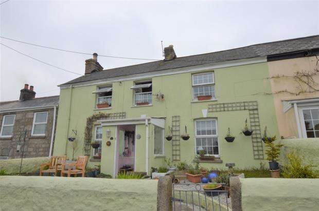 4 Bedrooms Terraced House for sale in Vogue Hill, St. Day, Redruth, Cornwall