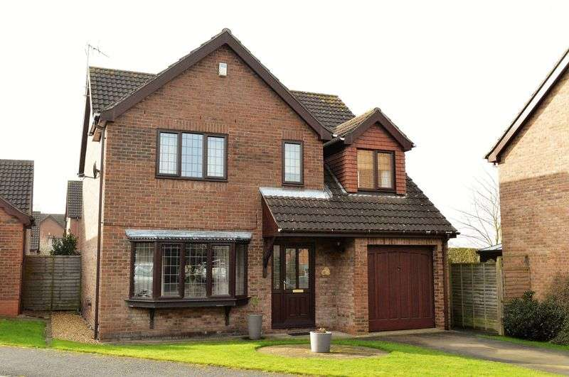 4 Bedrooms Detached House for sale in Bakersfield, Brigg