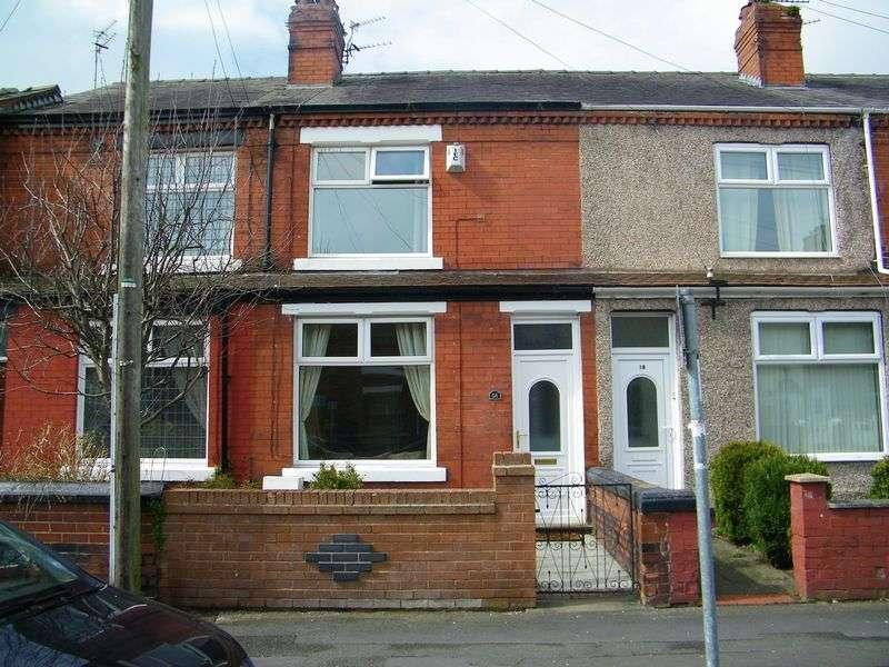 3 Bedrooms Terraced House for sale in Wellfield Street, Warrington