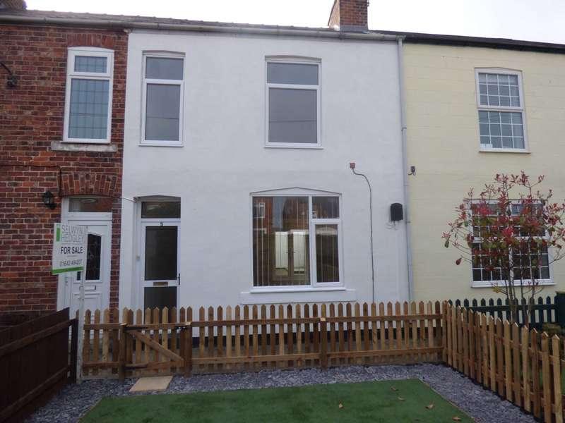 3 Bedrooms Terraced House for sale in King Edward Terrace, Marske By The Sea