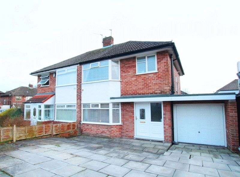 3 Bedrooms Semi Detached House for sale in Wrekin Close, Woolton, Liverpool, L25