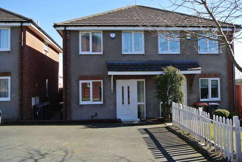 3 Bedrooms Semi Detached House for sale in Paddock Court, Dawley, TELFORD, Shropshire.