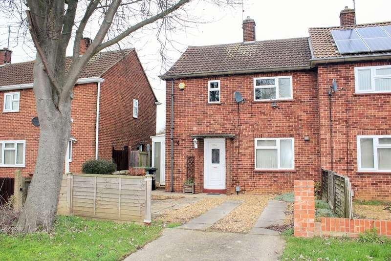 2 Bedrooms End Of Terrace House for sale in Eastern Avenue, Dogsthorpe, Peterborough, PE1 4QB
