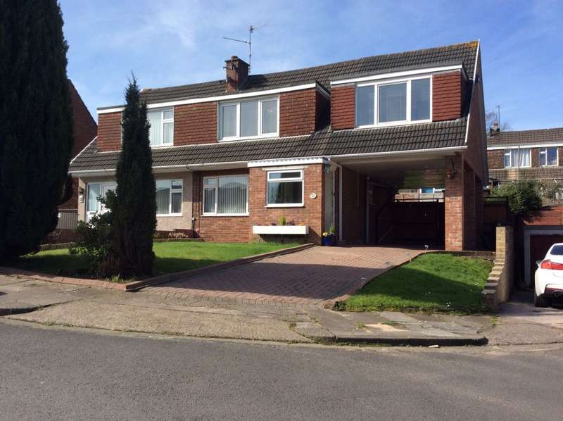 4 Bedrooms Semi Detached House for sale in Roundwood Close, Cardiff, South Glamorgan, CF23 9HH