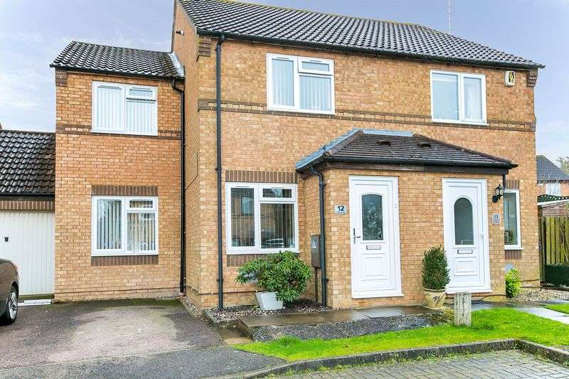 3 Bedrooms Semi Detached House for sale in Rillington Gardens, Emerson Valley, Milton Keynes