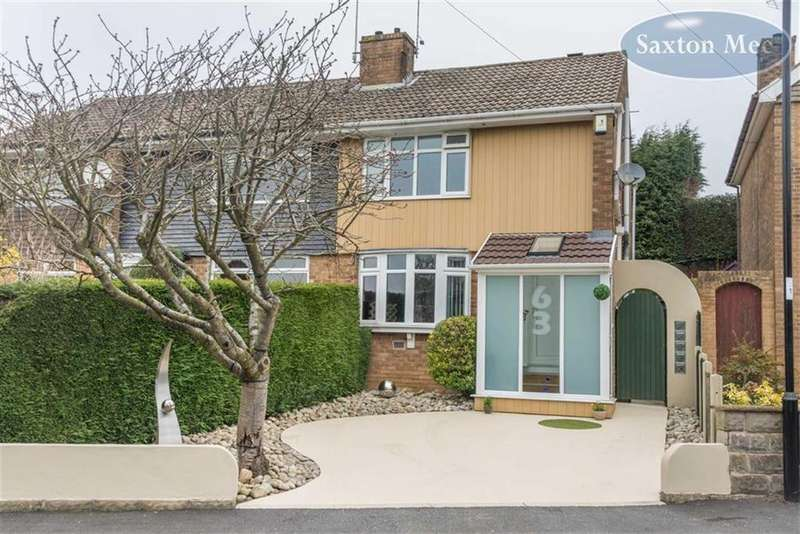 3 Bedrooms Semi Detached House for sale in Winchester Avenue, Fulwood, Sheffield, S10