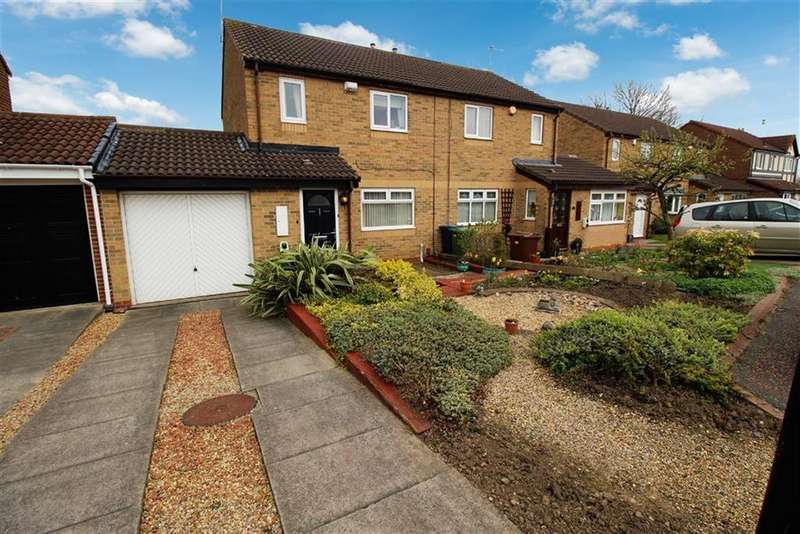 3 Bedrooms Semi Detached House for sale in Garstin Close, Newcastle-upon-Tyne, NE7