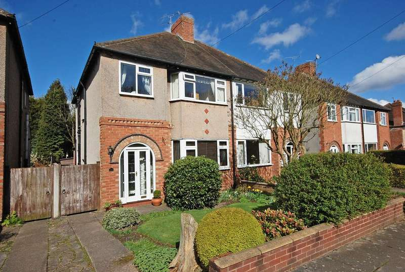 3 Bedrooms Semi Detached House for sale in Woodhall Road, Penn, Wolverhampton WV4