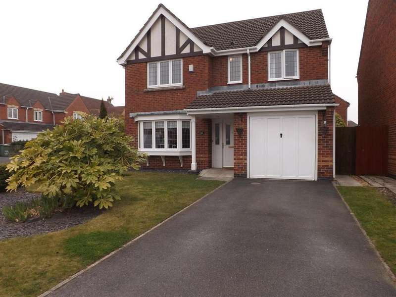 4 Bedrooms Detached House for sale in Breydon Gardens, St. Helens
