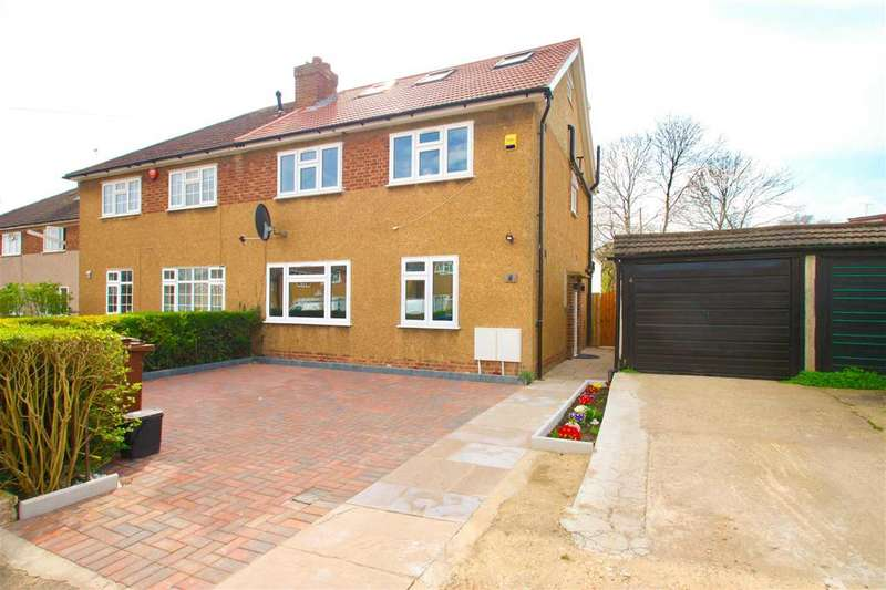 4 Bedrooms Semi Detached House for sale in Craigwell Close, STANMORE