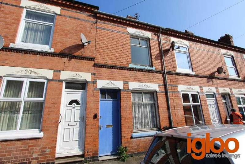 2 Bedrooms Terraced House for sale in Herschell Street, Leicester