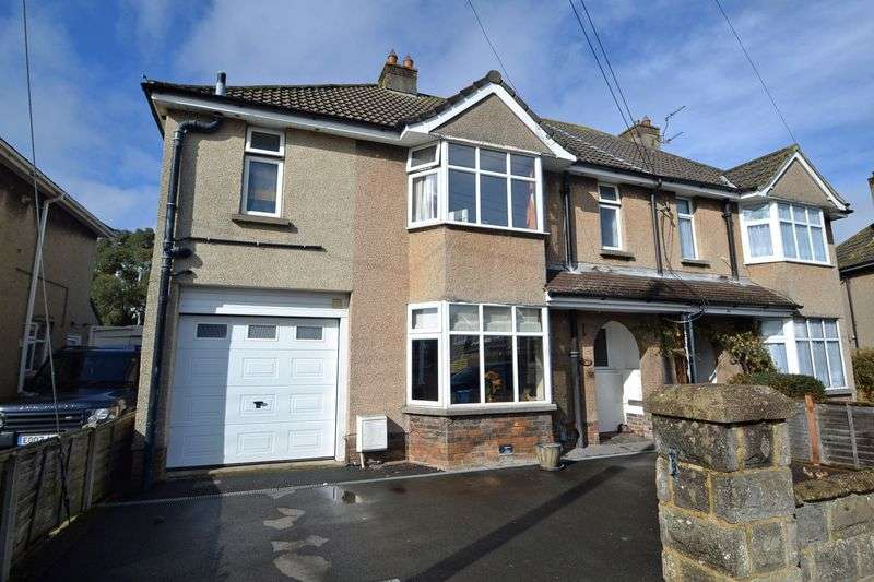 4 Bedrooms Semi Detached House for sale in Quality family home with large gardens in Clevedon