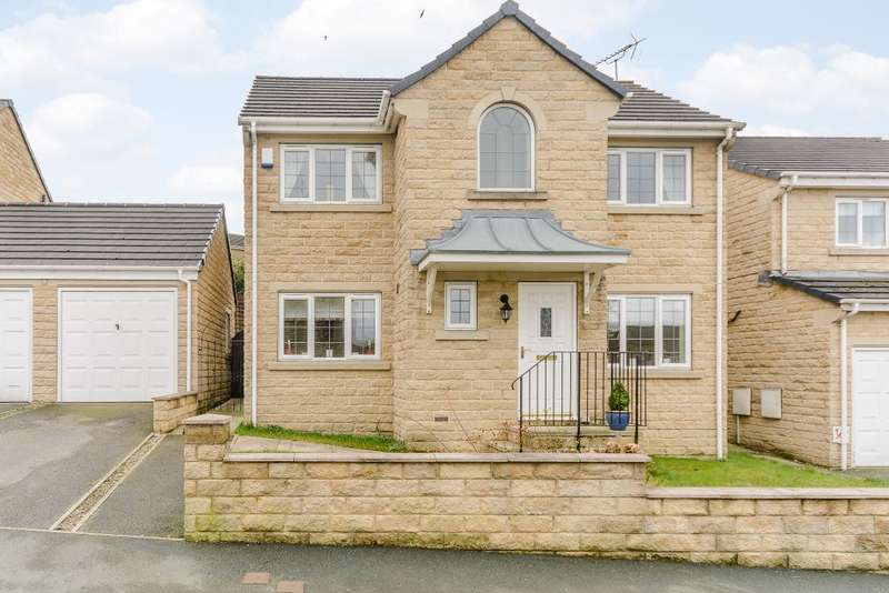 3 Bedrooms Detached House for sale in Fairview, Bradford, West Yorkshire, BD12 7DN