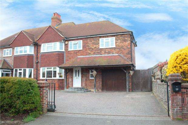 4 Bedrooms Semi Detached House for sale in High Street, Angmering, West Sussex, BN16