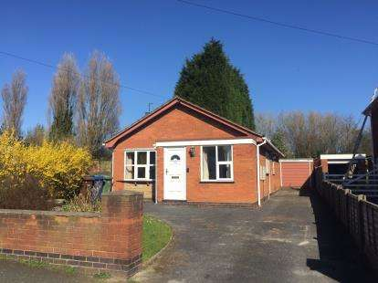 2 Bedrooms Bungalow for sale in St. Johns Road, Cannock, Staffordshire