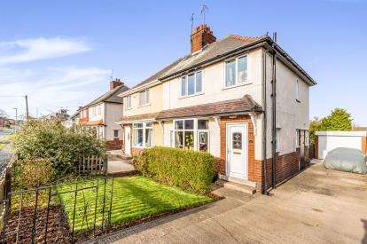 3 Bedrooms Semi Detached House for sale in Grangewood Road, Chesterfield, Derbyshire