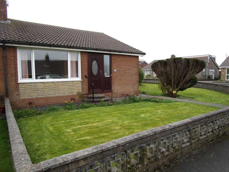 2 Bedrooms Semi Detached Bungalow for sale in Sherwood Way, High Crompton