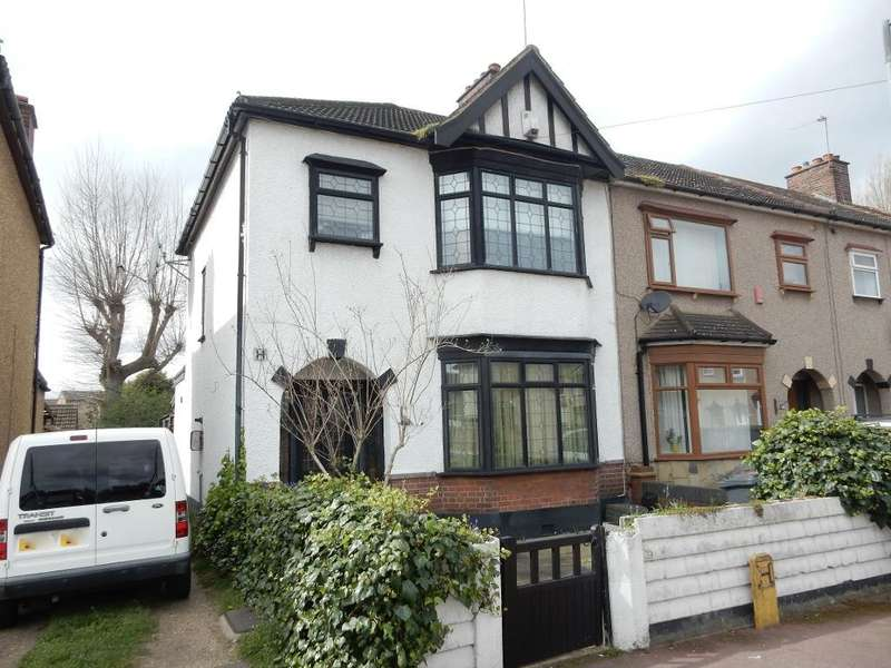 3 Bedrooms End Of Terrace House for sale in Sandown Avenue, Dagenham East, Essex, RM10 8XD