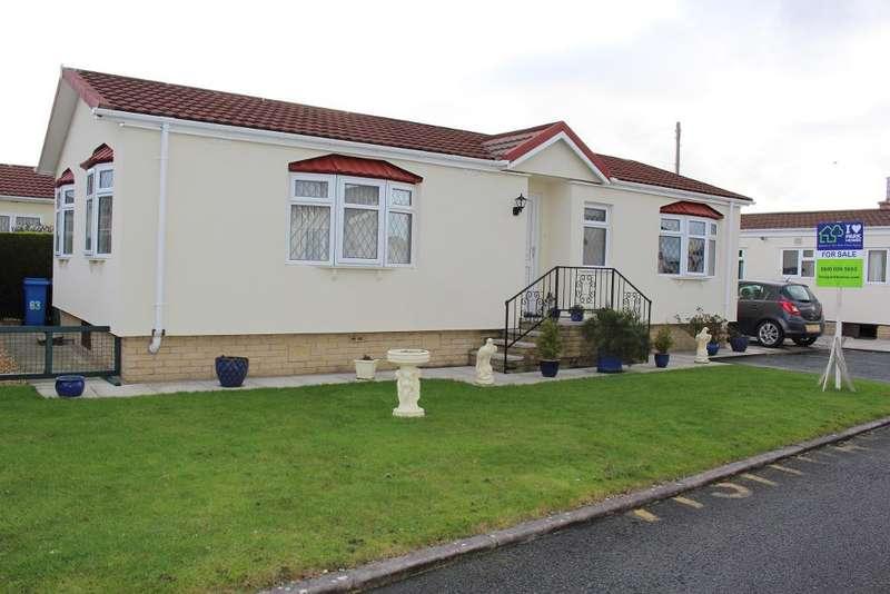 2 Bedrooms Park Home Mobile Home for sale in The Close, Wyre Vale Park, Garstang, Lancashire, PR3 1PL