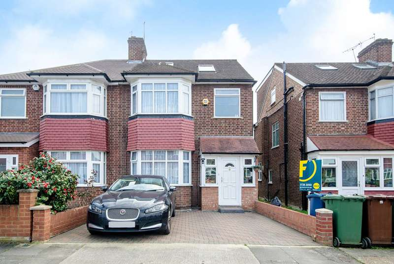 4 Bedrooms Semi Detached House for sale in Torrington Drive, South Harrow, HA2