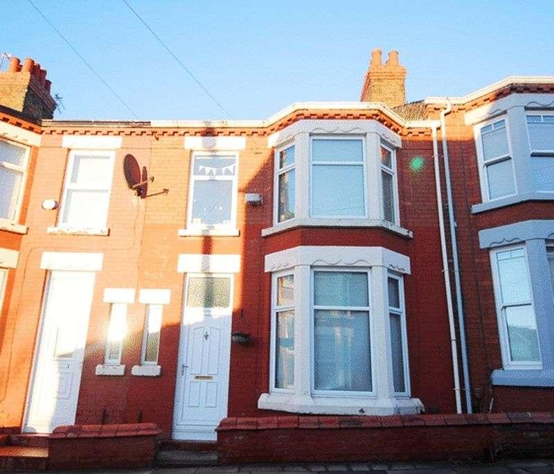 3 Bedrooms Terraced House for sale in Weardale Road, Wavertree, Liverpool, L15