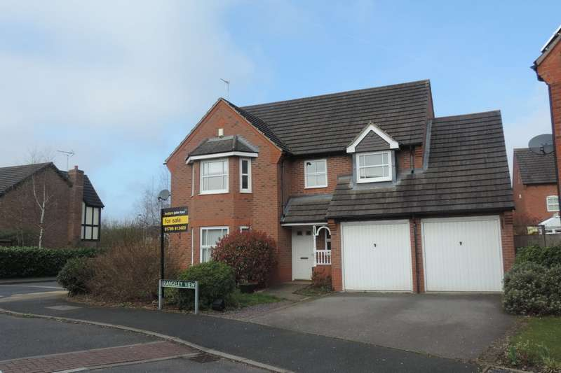 4 Bedrooms Detached House for sale in Rangeley View , Stone, Staffs