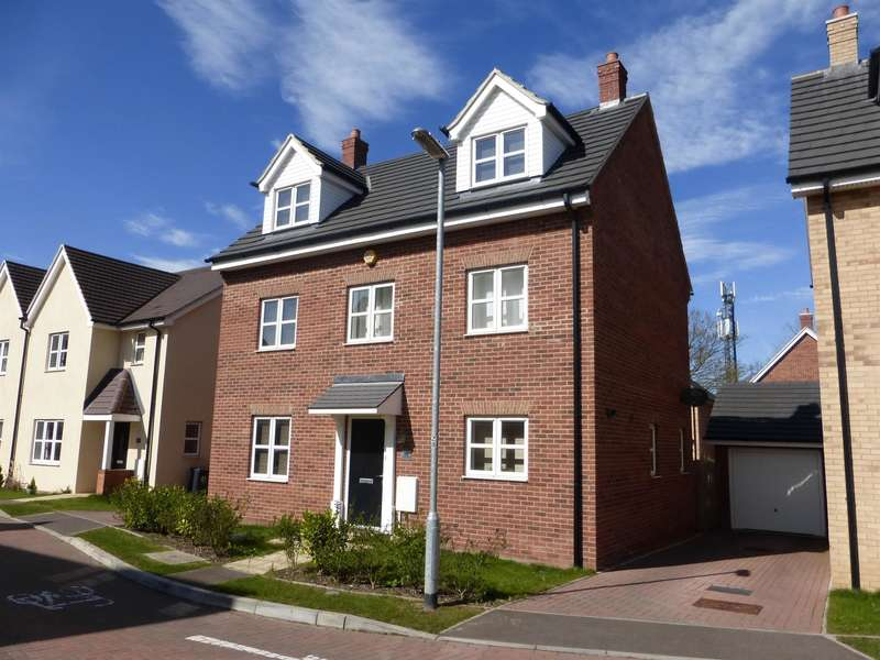 5 Bedrooms Detached House for sale in Chamberlain Way, Shortstown, Bedford, MK42