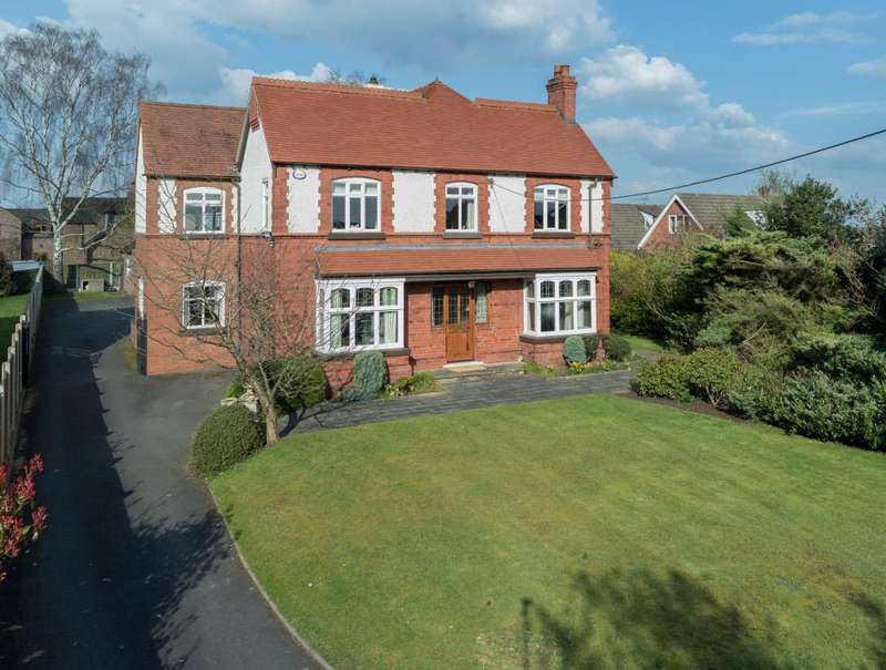 5 Bedrooms Detached House for sale in Main Road, Wybunbury