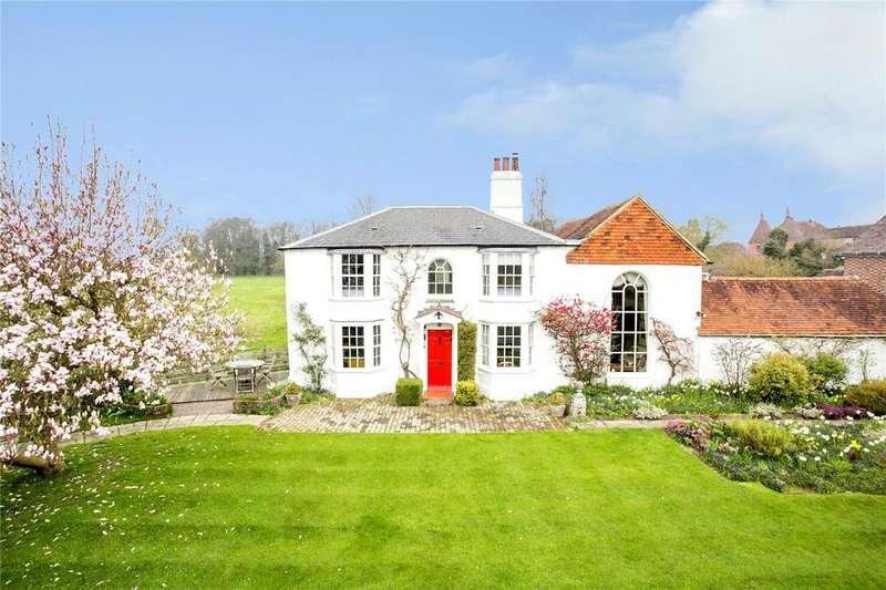 4 Bedrooms Detached House for sale in Carpenters Lane, Hadlow, Tonbridge, Kent