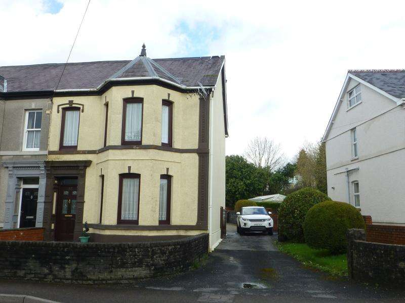 4 Bedrooms Semi Detached House for sale in College Street, Ammanford, Carmarthenshire.