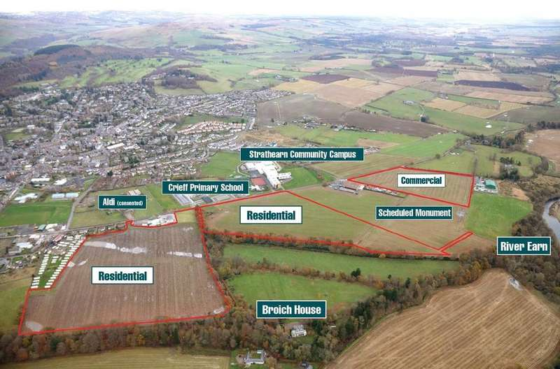 Land Commercial for sale in Broich Road, Crieff, Perthshire