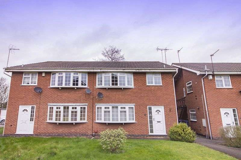 2 Bedrooms Flat for sale in DEAN CLOSE, LITTLEOVER