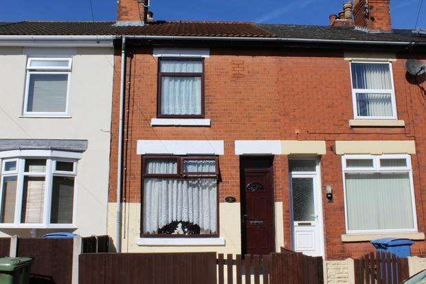 2 Bedrooms Terraced House for sale in Harrington Street, Mansfield, NG18
