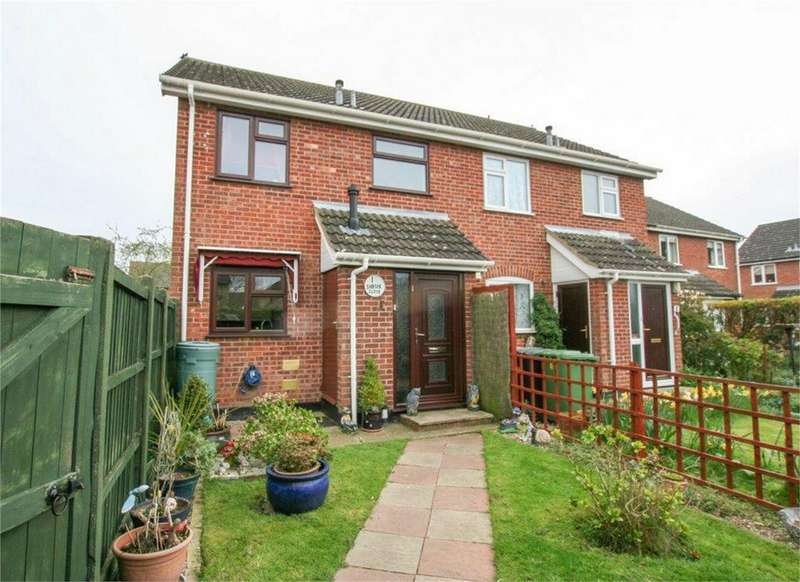 3 Bedrooms End Of Terrace House for sale in Shrub Close, Attleborough, Norfolk