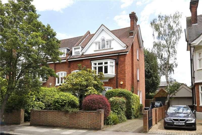 5 Bedrooms Semi Detached House for sale in Lancaster Road, Wimbledon Village, London, SW19